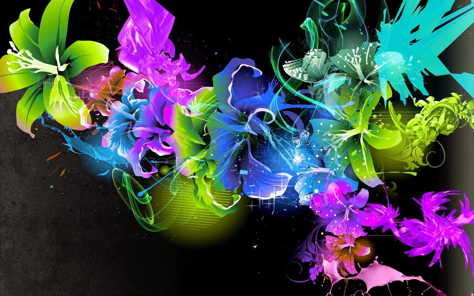 Abstract Butterflies Desktop Wallpapers