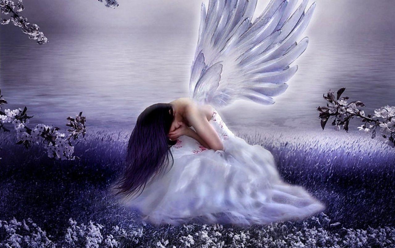 Sad Angel Wallpapers Top Free Sad Angel Backgrounds