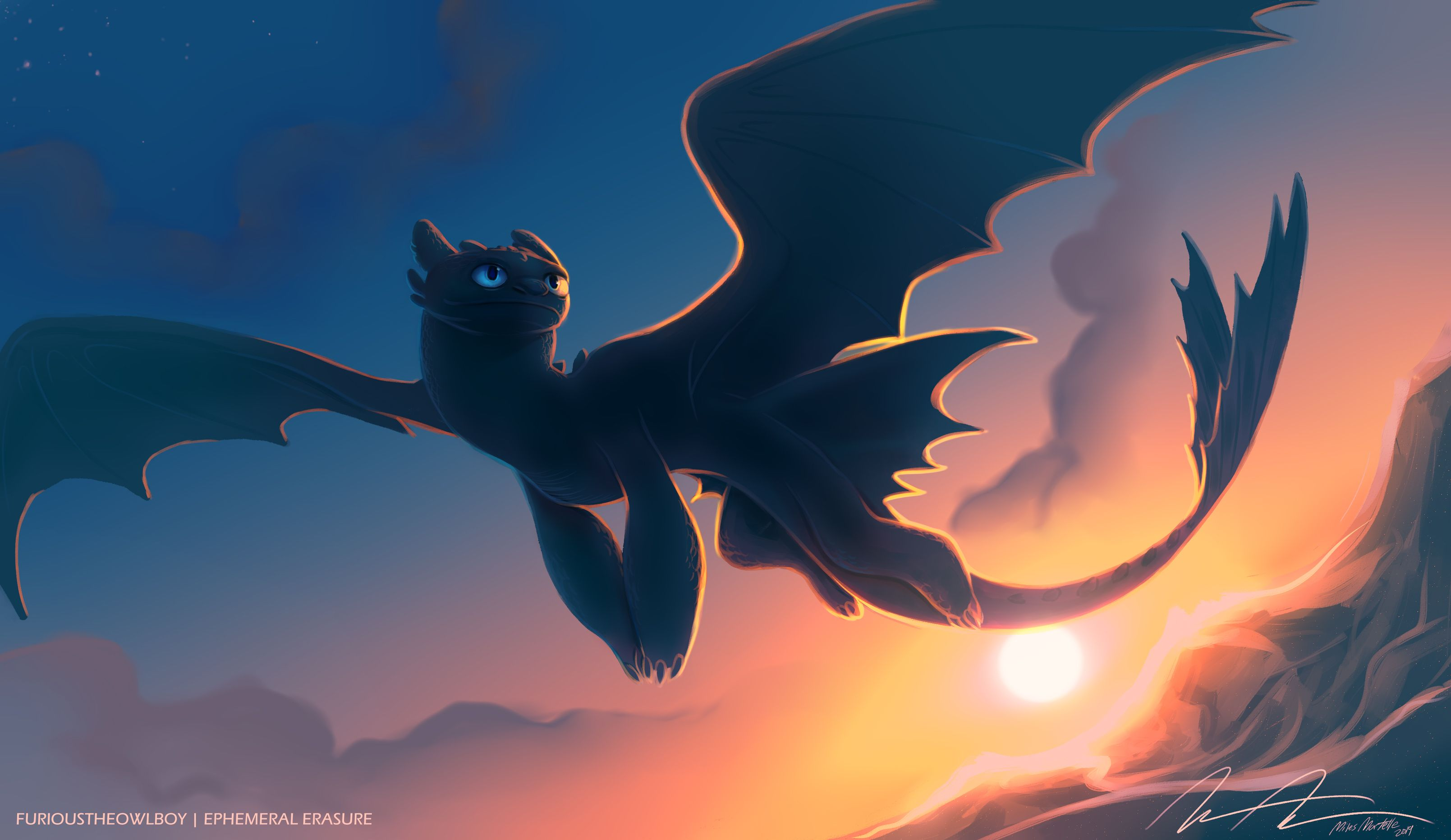 Toothless Wallpapers Top Free Toothless Backgrounds Wallpaperaccess