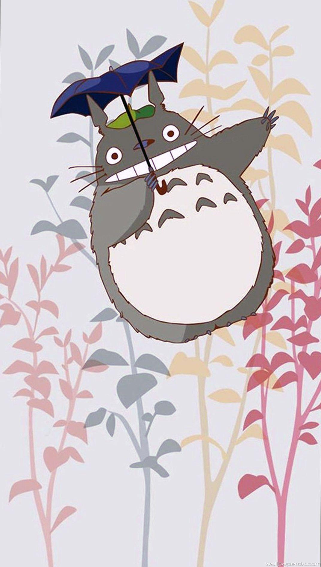 Totoro wallpapers top free totoro backgrounds - Totoro wallpaper iphone ...