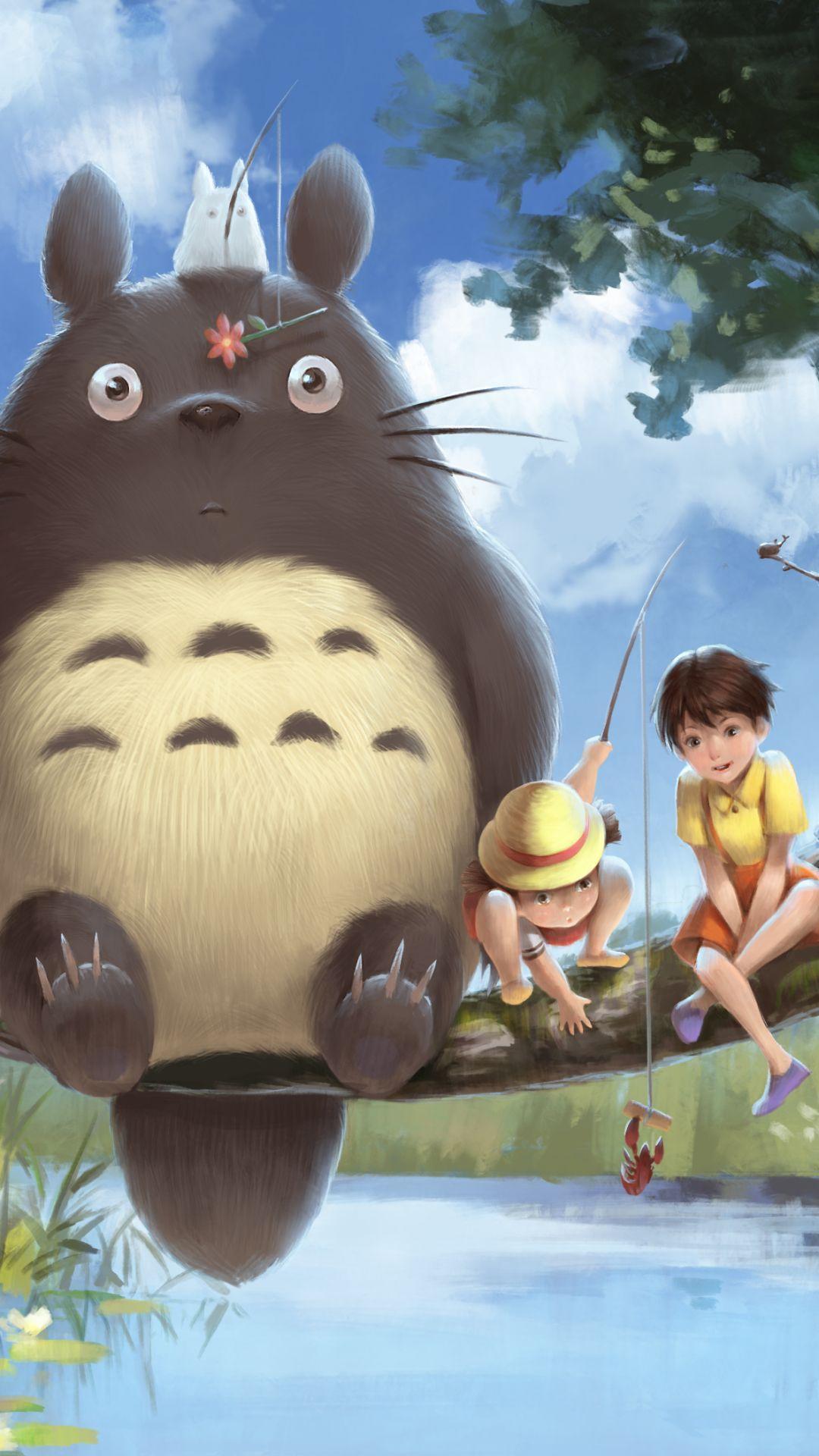 Totoro iphone wallpapers top free totoro iphone - Totoro wallpaper iphone ...