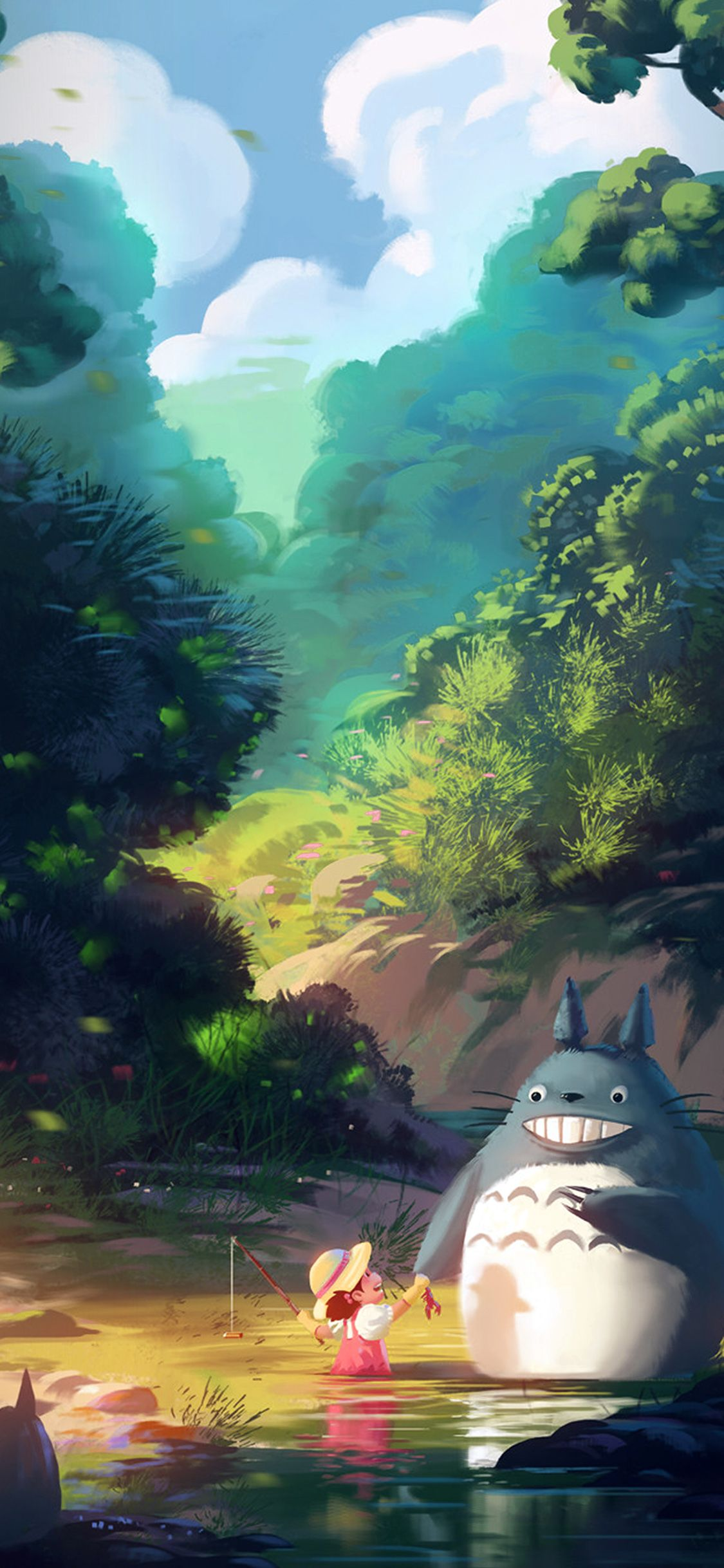 50 Best Free Totoro Iphone Wallpapers Wallpaperaccess