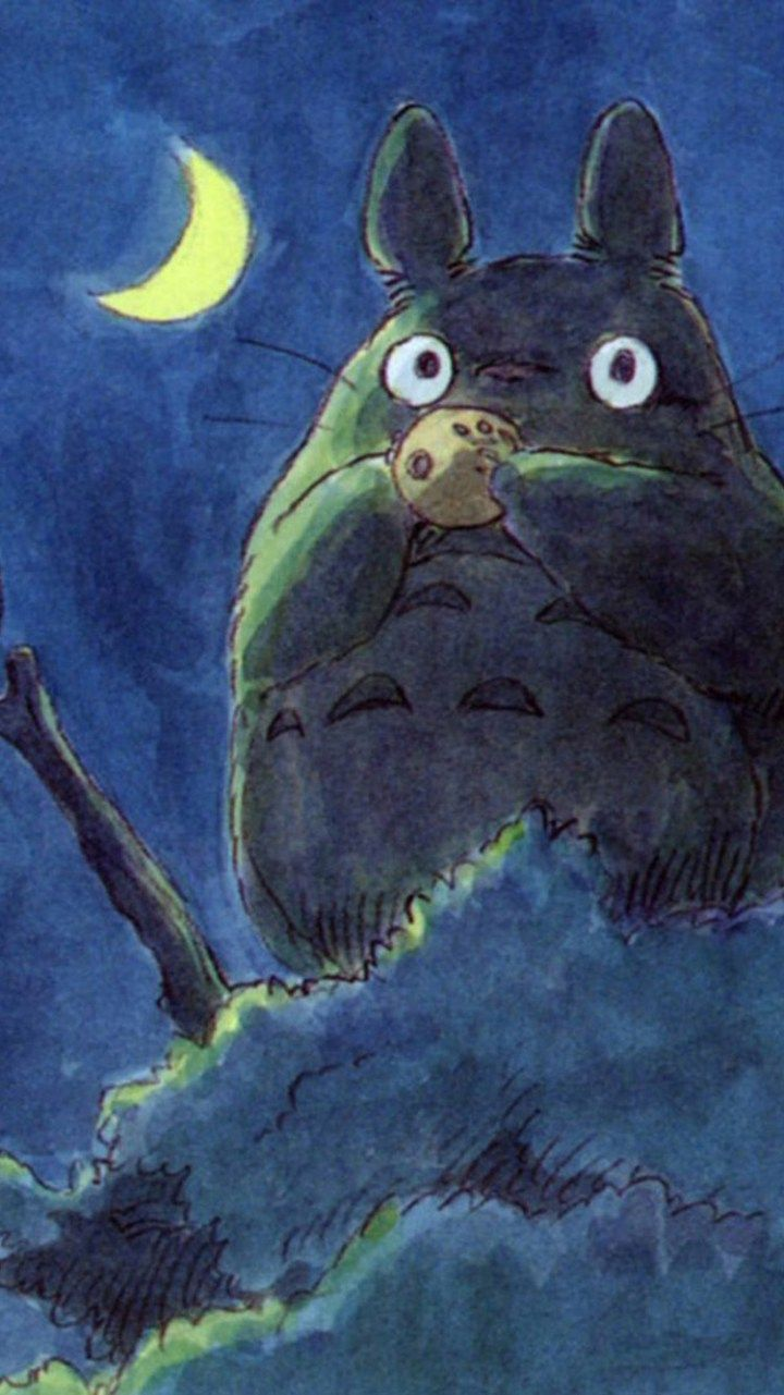 Totoro Iphone Wallpapers Top Free Totoro Iphone