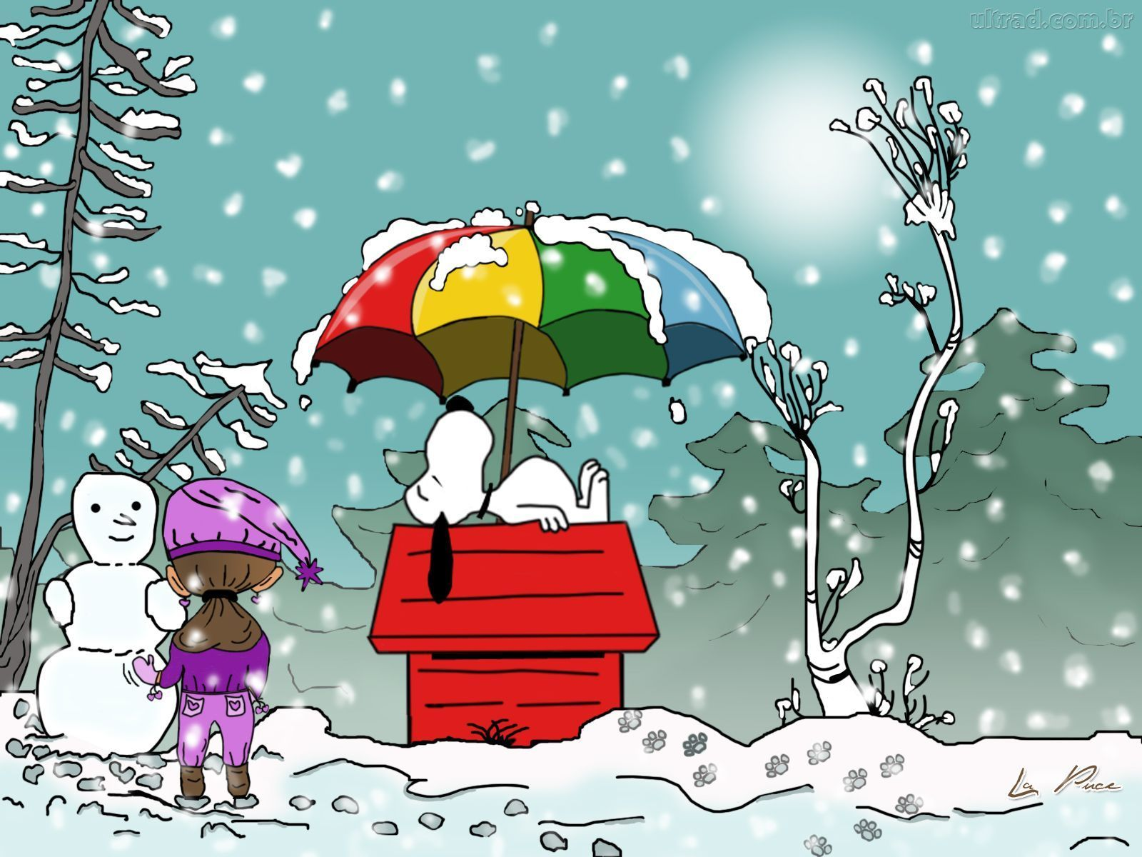 Snoopy Winter Wallpapers Top Free Snoopy Winter Backgrounds