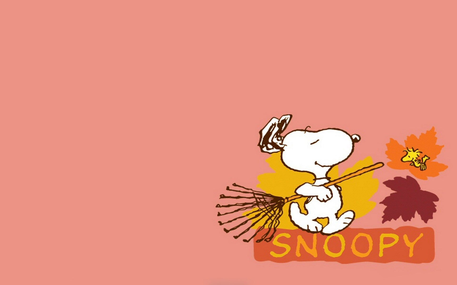 Snoopy Fall Wallpapers - Top Free