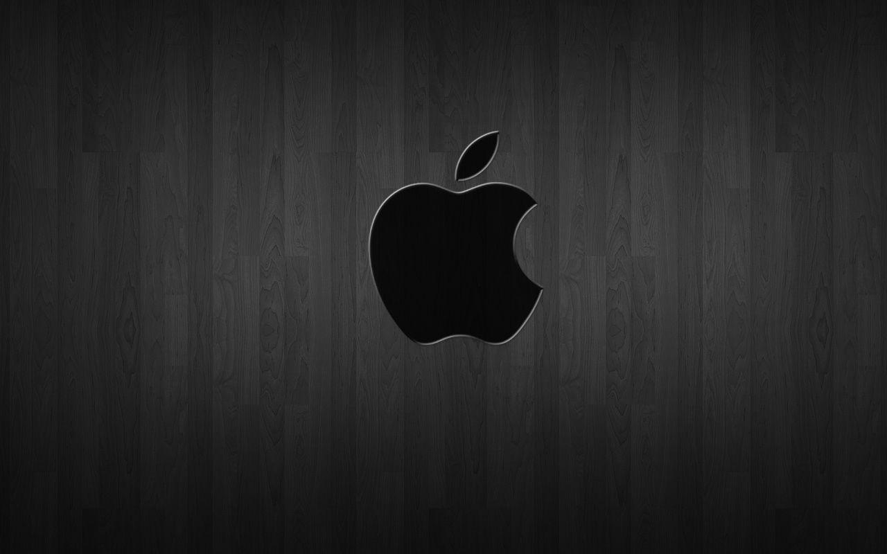 Black Apple Logo Wallpapers Top Free Black Apple Logo Backgrounds Wallpaperaccess