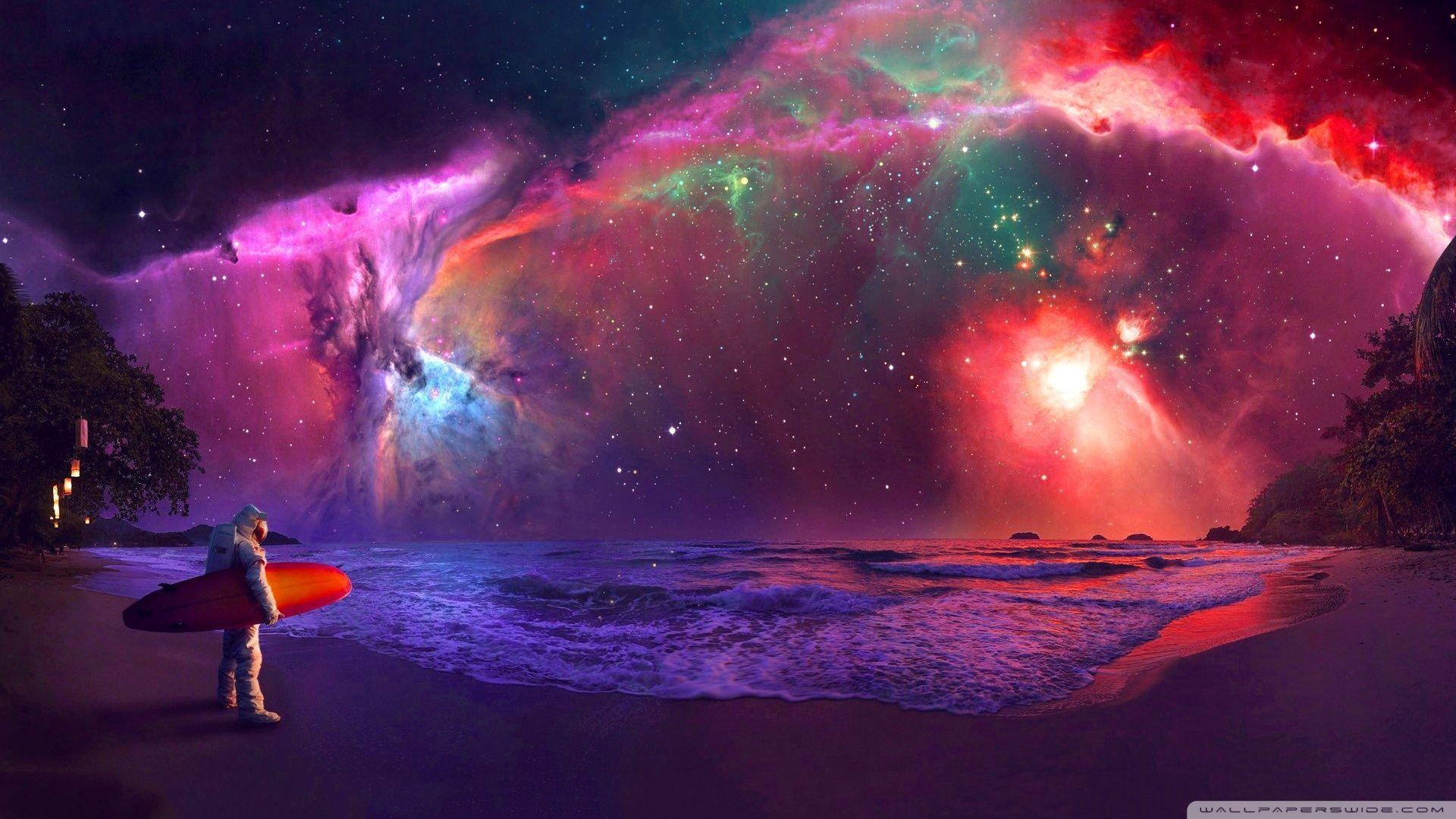Astronaut Galaxy Wallpapers Top Free Astronaut Galaxy