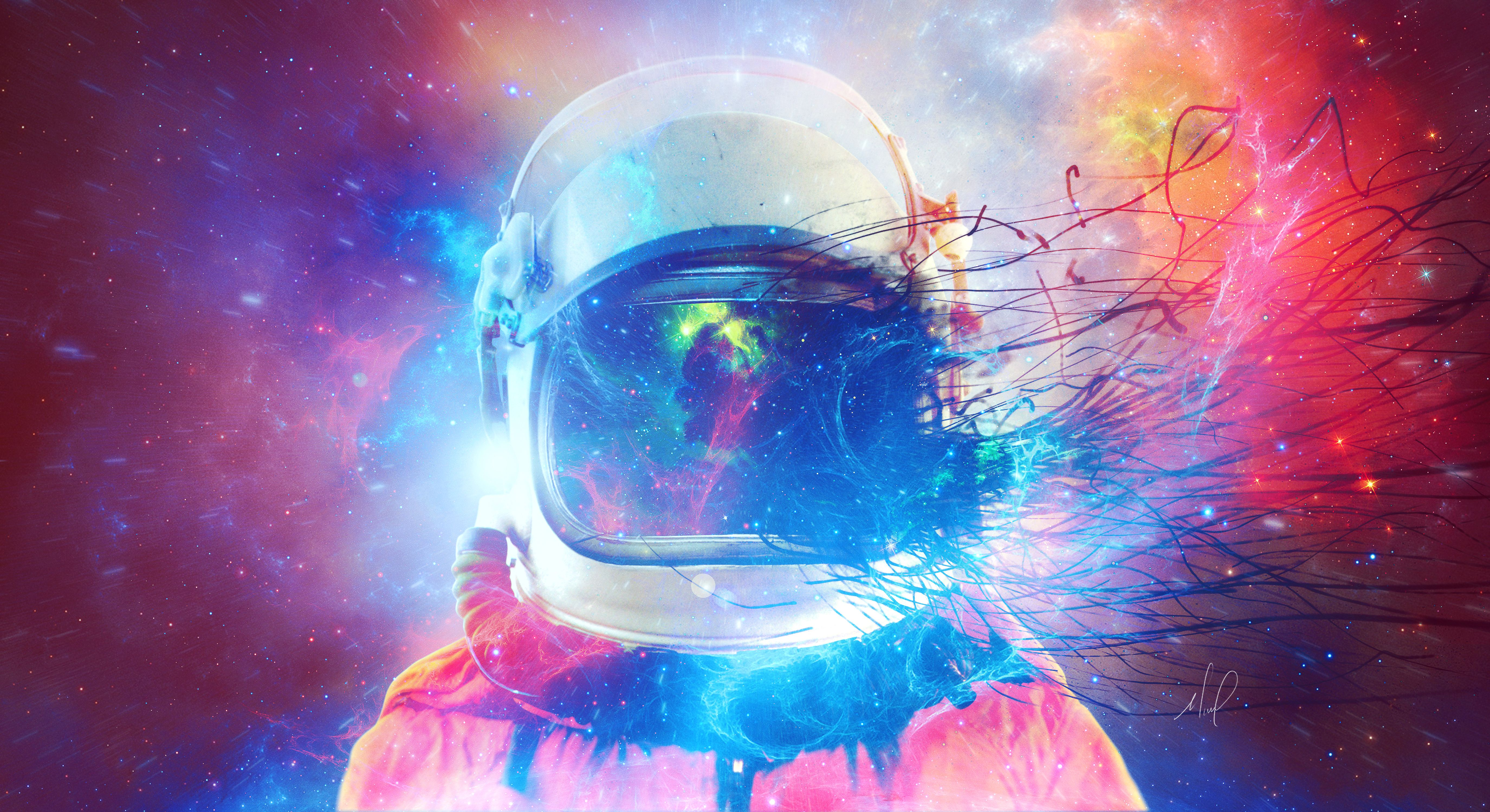Astronaut Galaxy Wallpapers Top Free Astronaut Galaxy
