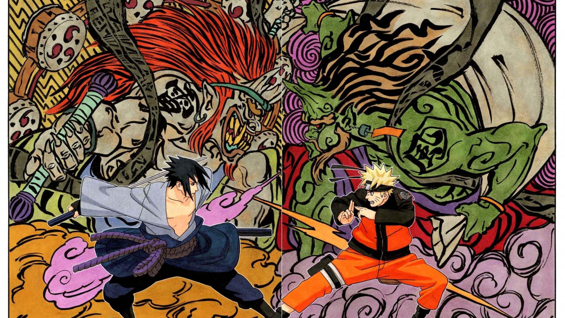 Naruto Manga Wallpapers Top Free Naruto Manga Backgrounds Wallpaperaccess