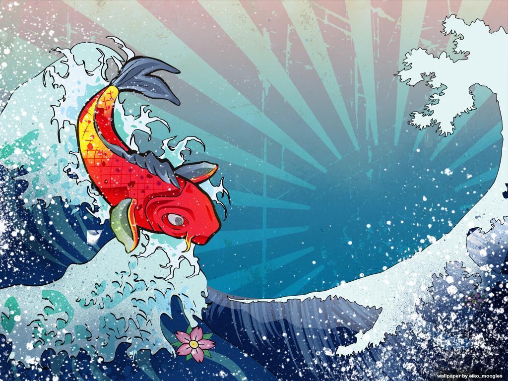 Japan Koi Desktop Wallpapers Top Free Japan Koi Desktop Backgrounds Wallpaperaccess