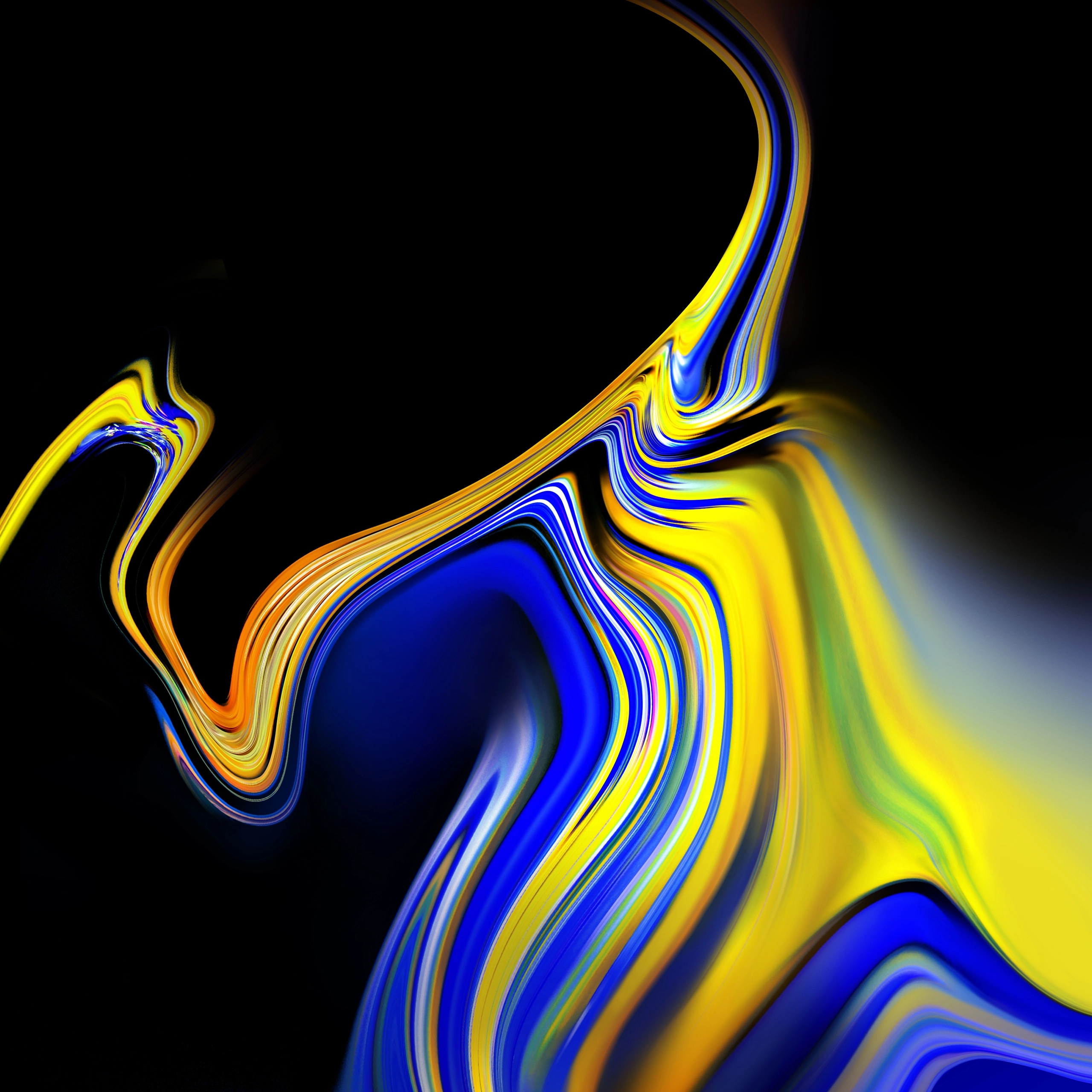 Samsung galaxy s4 gold wallpaper