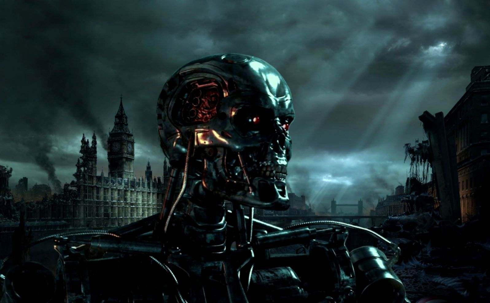 Terminator Skull Wallpapers - Top Free