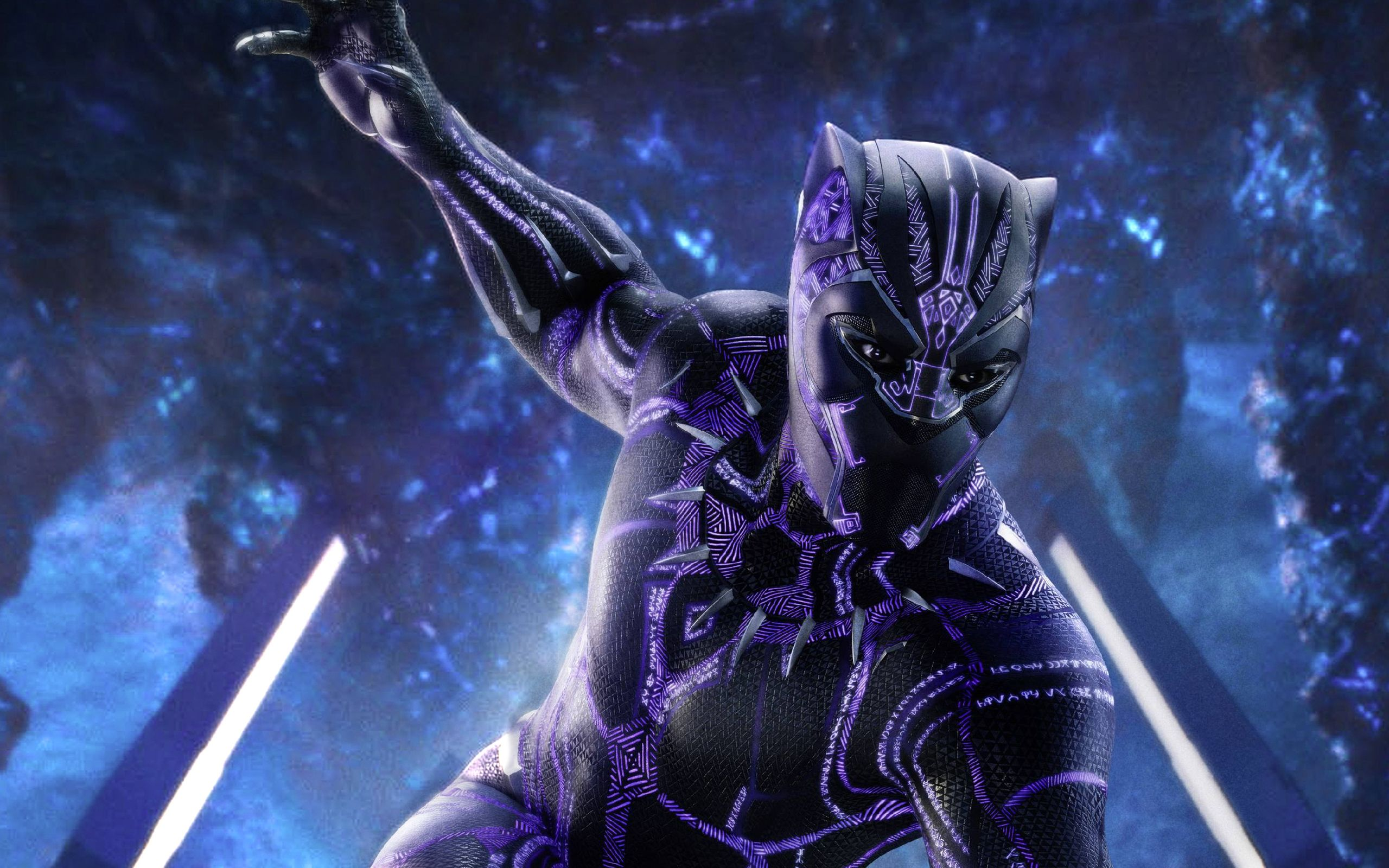 Purple Black Panther Wallpapers Top Free Purple Black Panther Backgrounds Wallpaperaccess