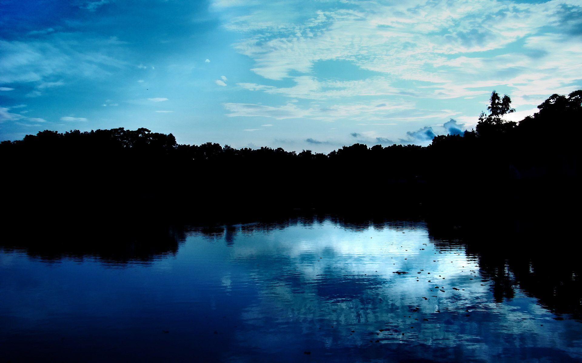 Hình nền thiên nhiên xanh 1920x1200