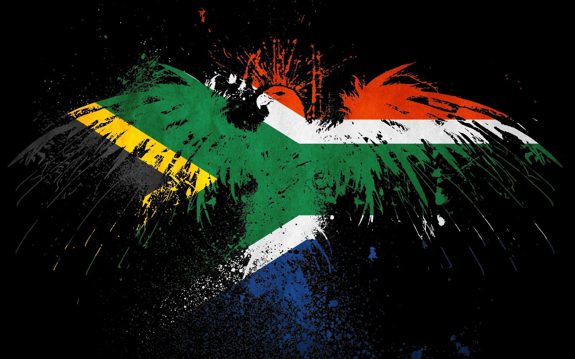 South African Flag Wallpapers Top Free South African Flag