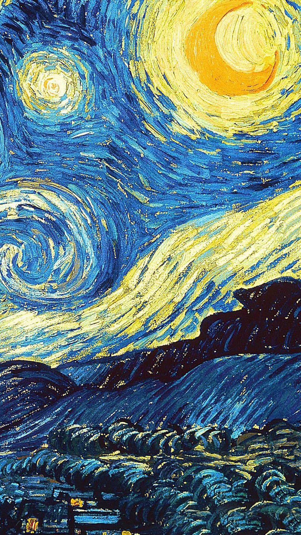 Starry Night Iphone Wallpapers Top Free Starry Night