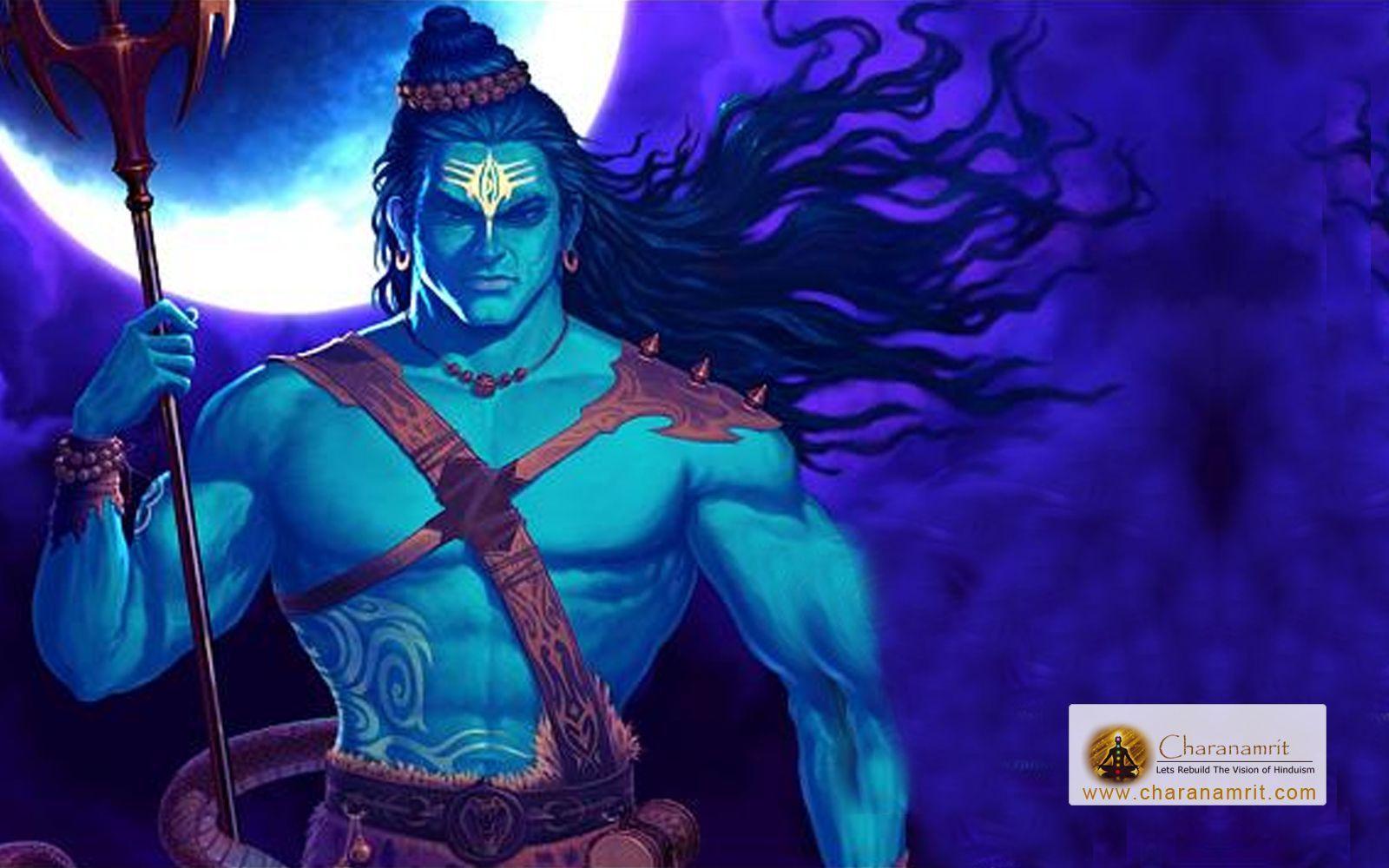 1600x1000 Lord Shiva 3D HD Wallpaper Tải xuống