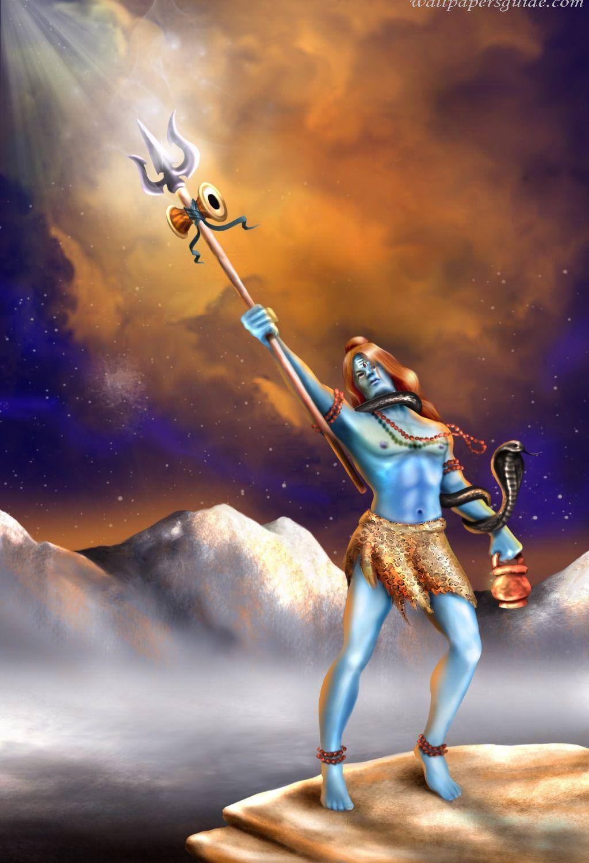 1024x1500 Angry Shiva Hình nền HD