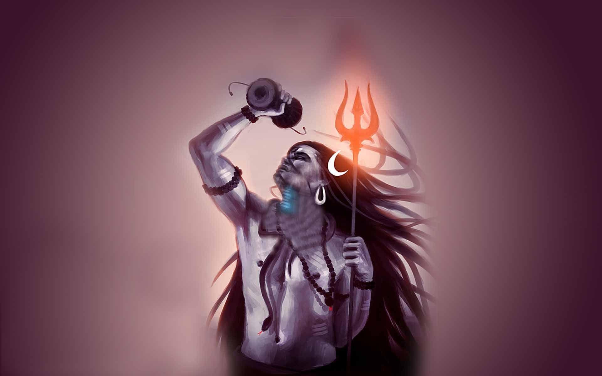 1920x1200 Chúa Shiva hình nền
