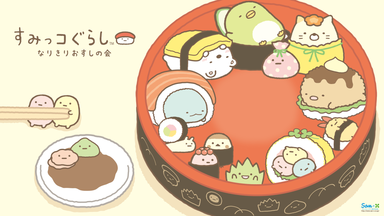 62 Best Free Cute Japanese Sushi Wallpapers