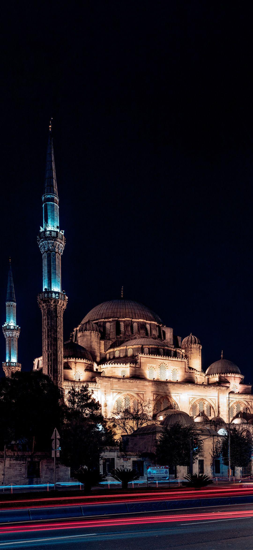Hình nền HD Hồi giáo 1080x2340 Sehzade Mosque