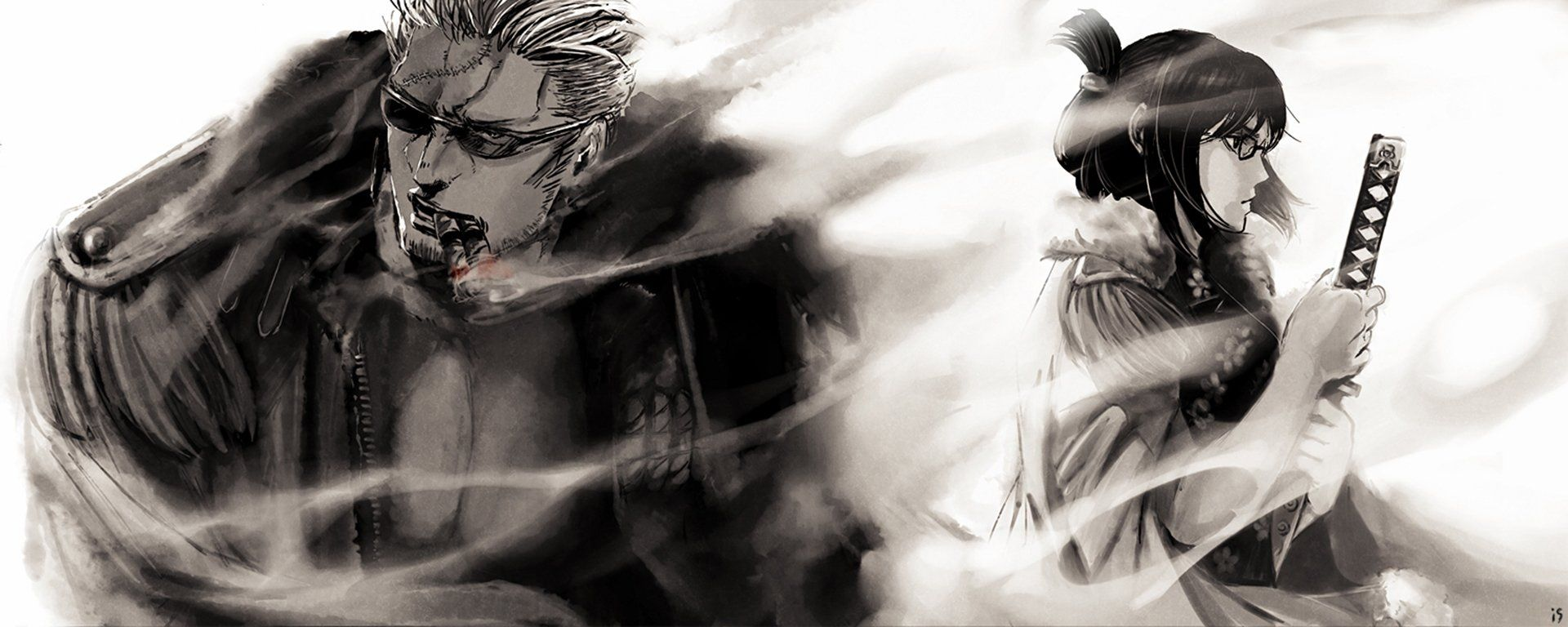 Smoker One Piece Wallpapers Top Free Smoker One Piece Backgrounds Wallpaperaccess