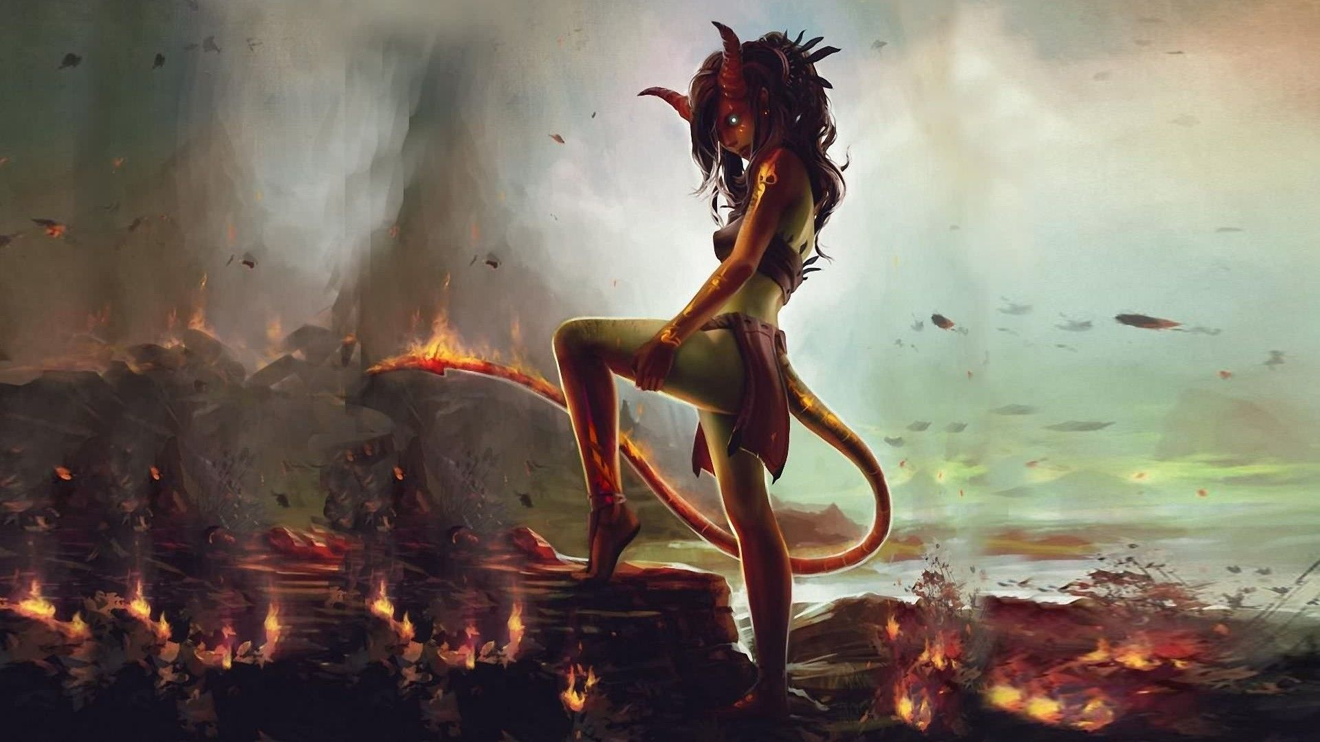 Demon Girl Wallpapers - Top Free Demon
