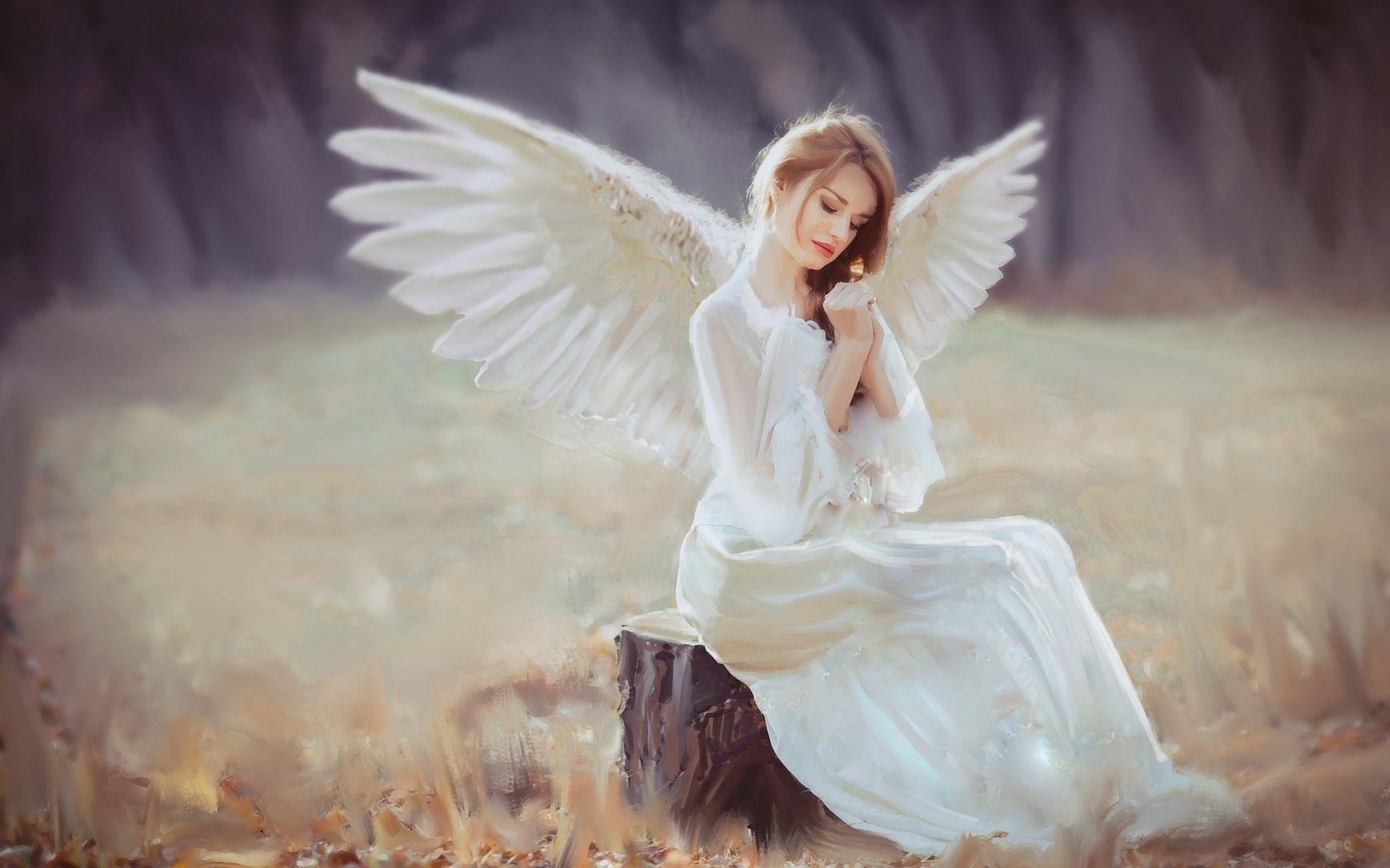 Angel Girl Wallpapers Top Free Angel Girl Backgrounds
