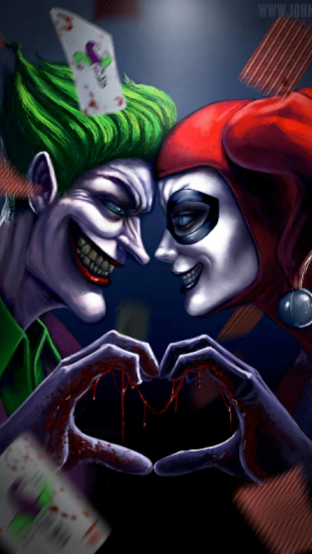 Joker And Harley Quinn Wallpapers Top Free Joker And Harley