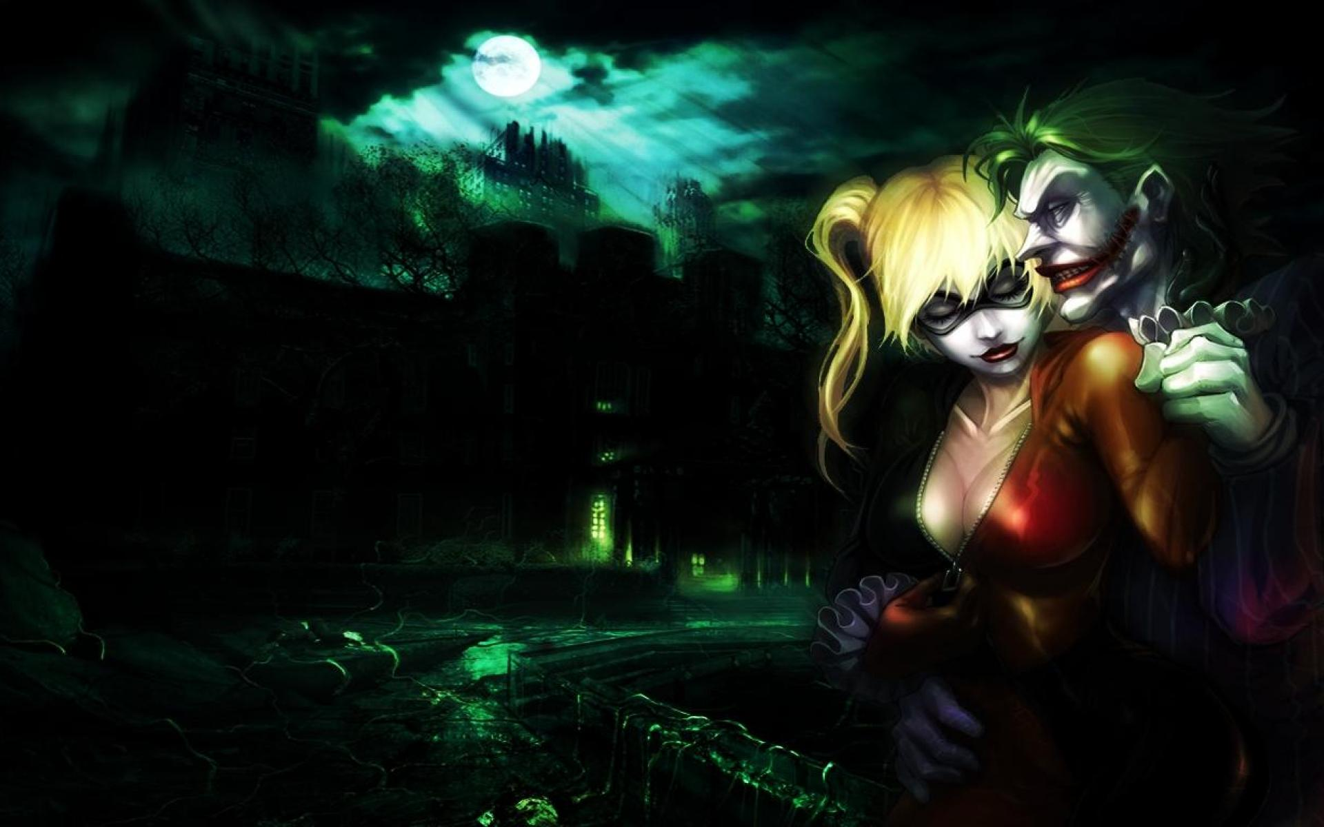 Joker And Harley Quinn Wallpapers Top Free Joker And