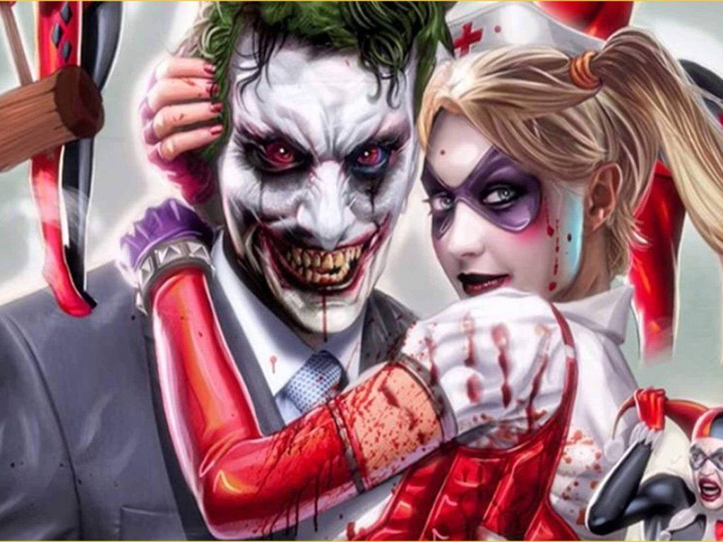 Joker And Harley Quinn Wallpapers Top Free Joker And Harley Quinn