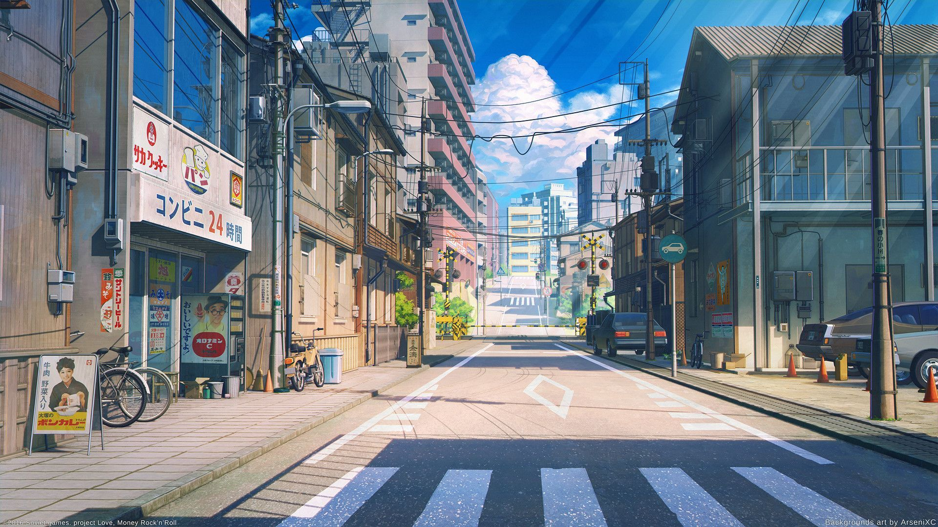 Anime Street Wallpapers Top Free Anime Street Backgrounds Wallpaperaccess