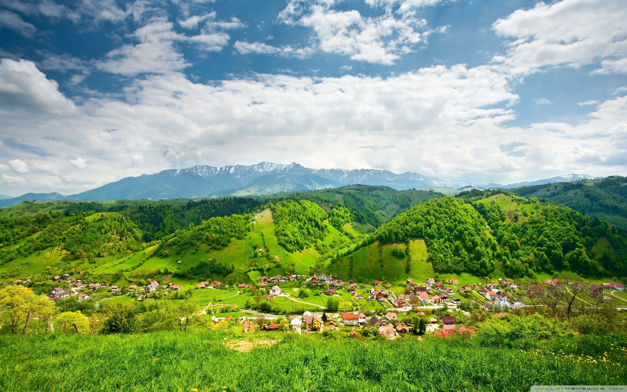 village mountain 4k desktop wallpapers wallpaperaccess ultra tv