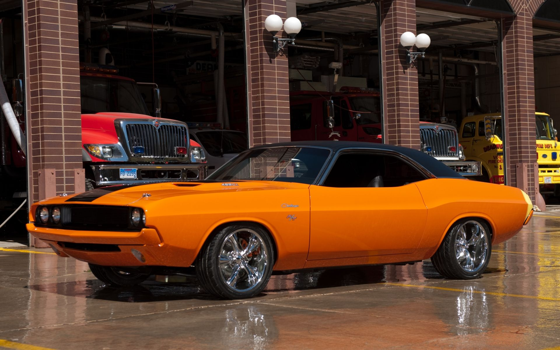 Custom Muscle Cars Wallpapers