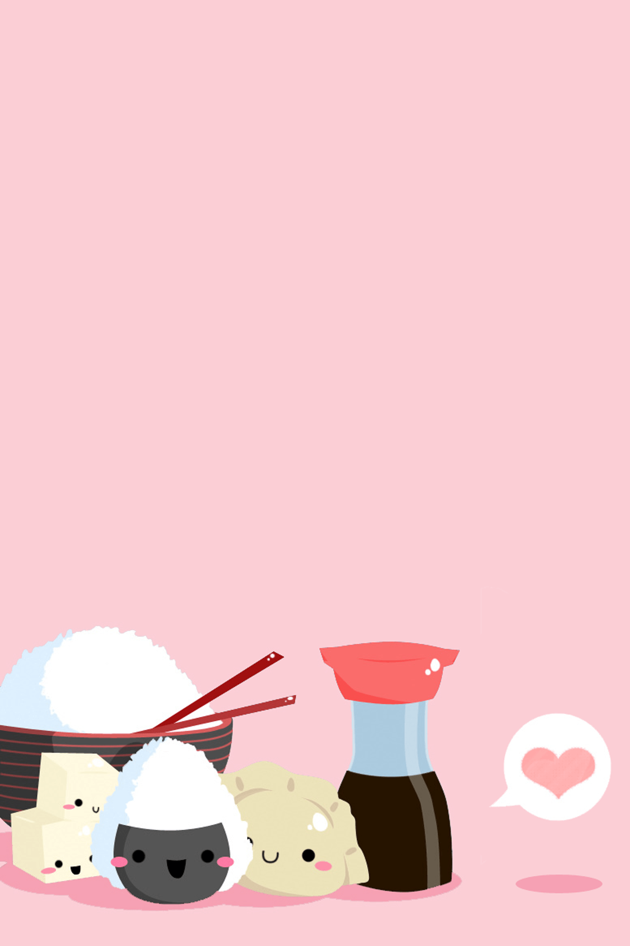 Cute Japanese Sushi Wallpapers Top Free Cute Japanese