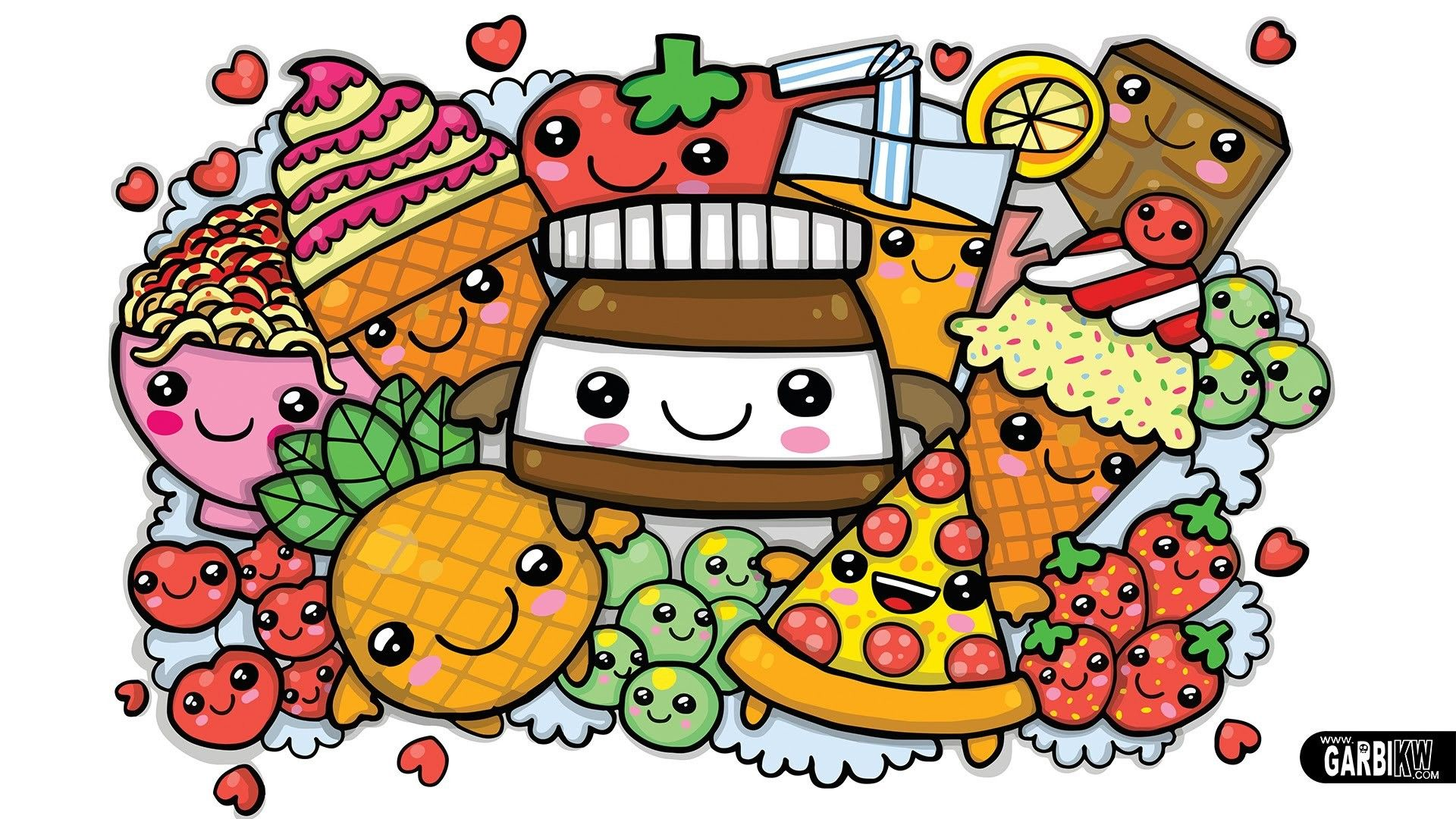 Cute Food Wallpapers Top Free Cute Food Backgrounds
