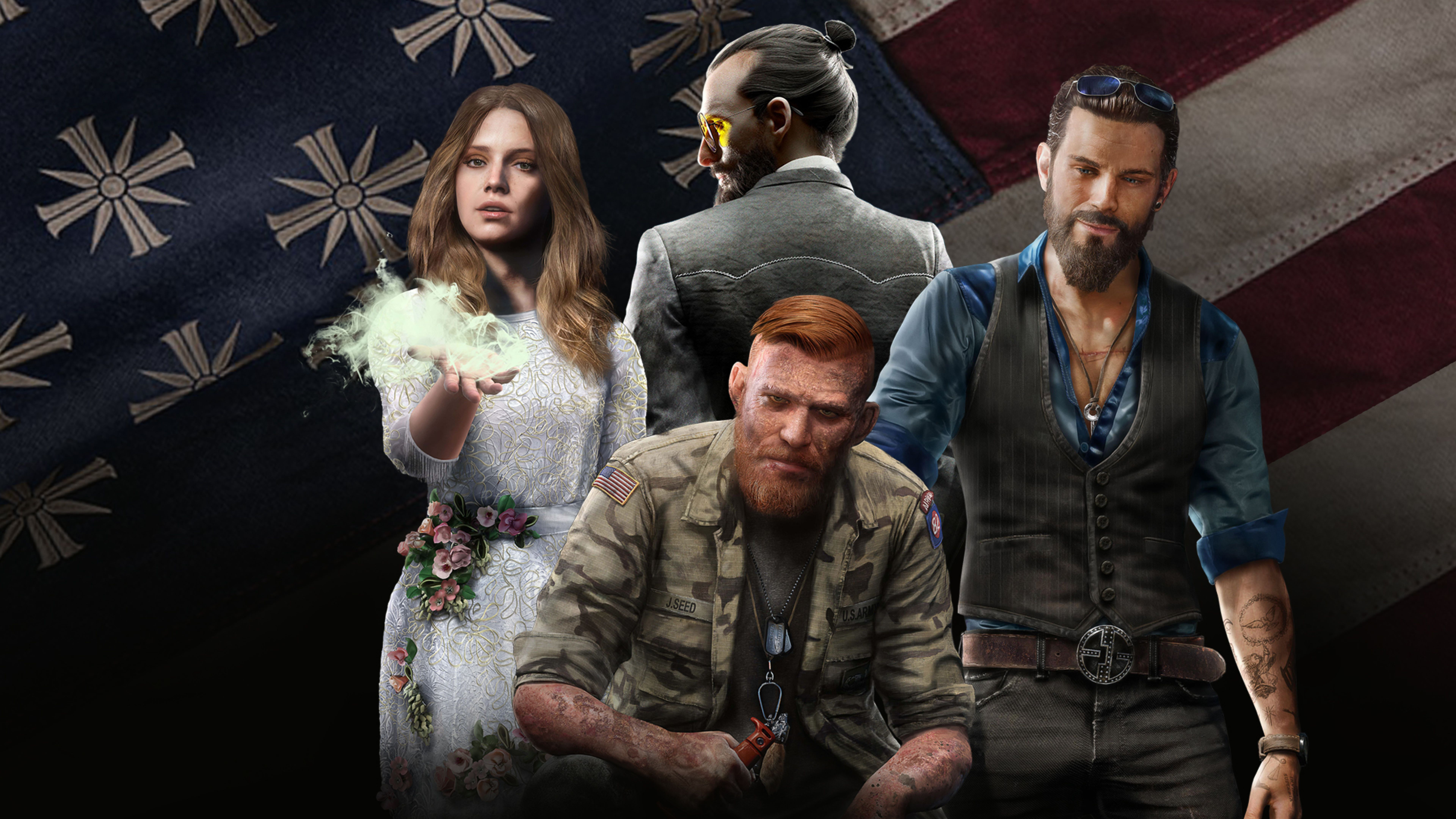 Far Cry 5 Wallpapers Top Free Far Cry 5 Backgrounds Wallpaperaccess