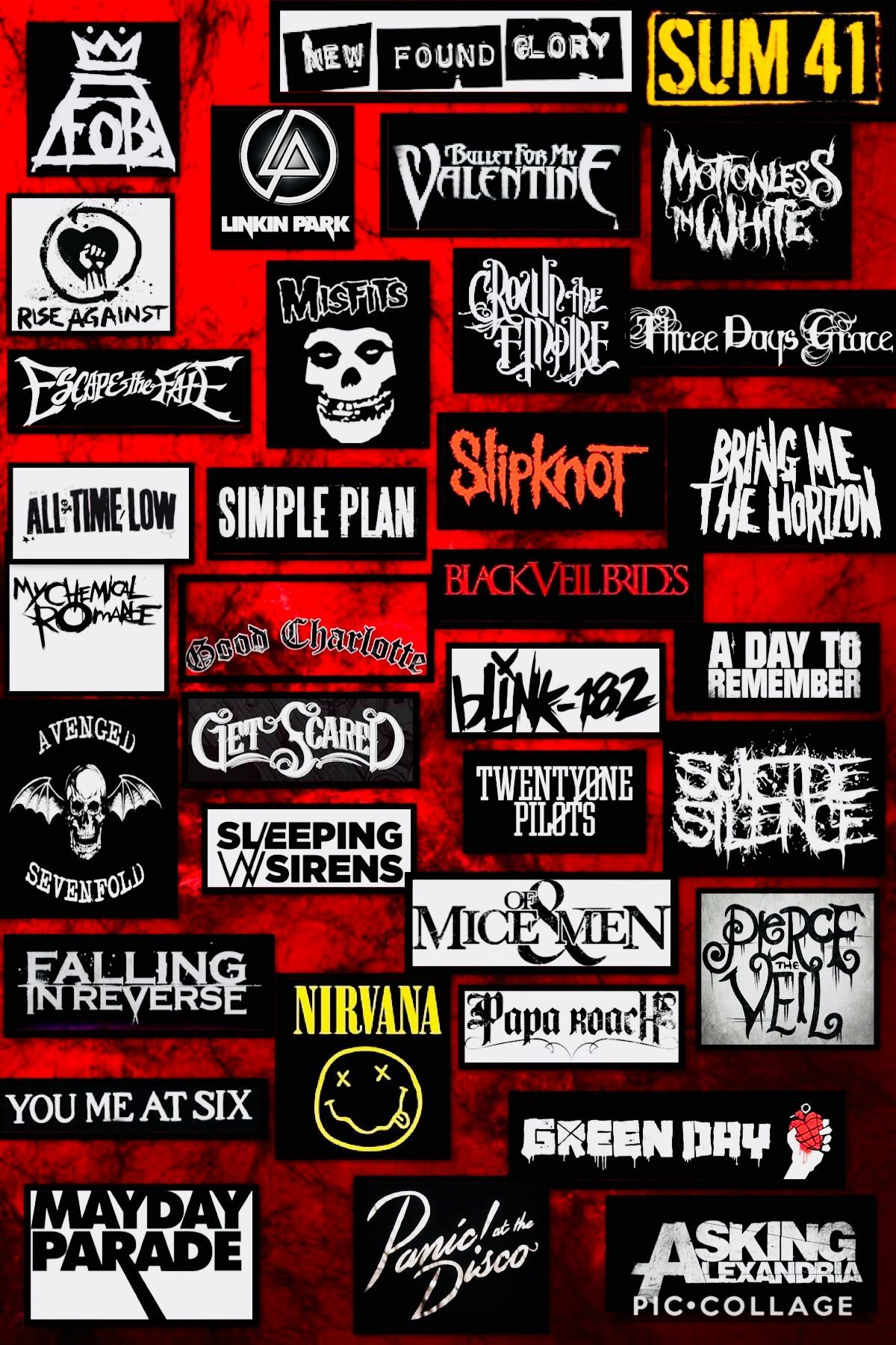 Rock Bands Wallpapers Top Free Rock Bands Backgrounds