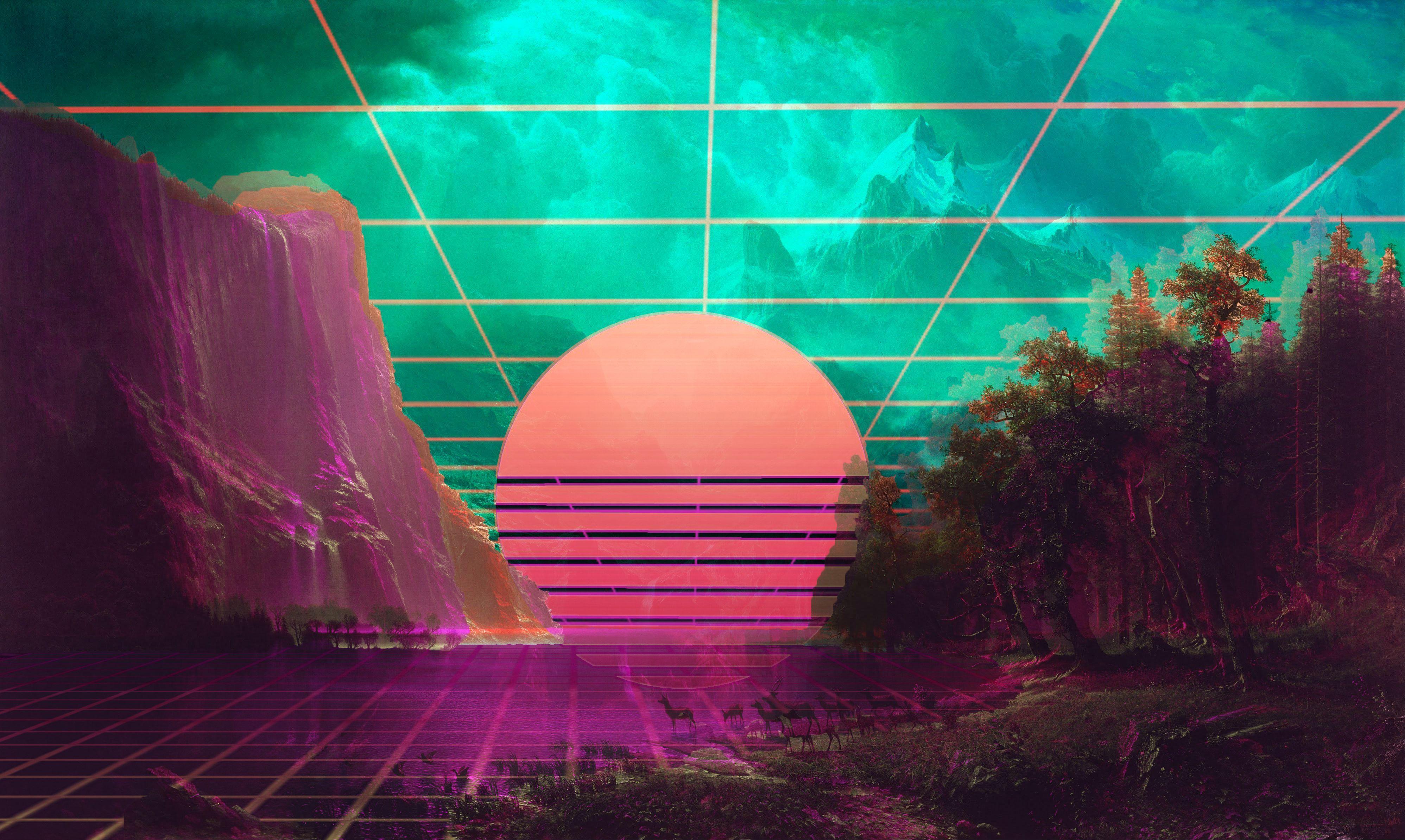 Vaporwave Desktop Wallpapers - Top Free Vaporwave Desktop Backgrounds - WallpaperAccess