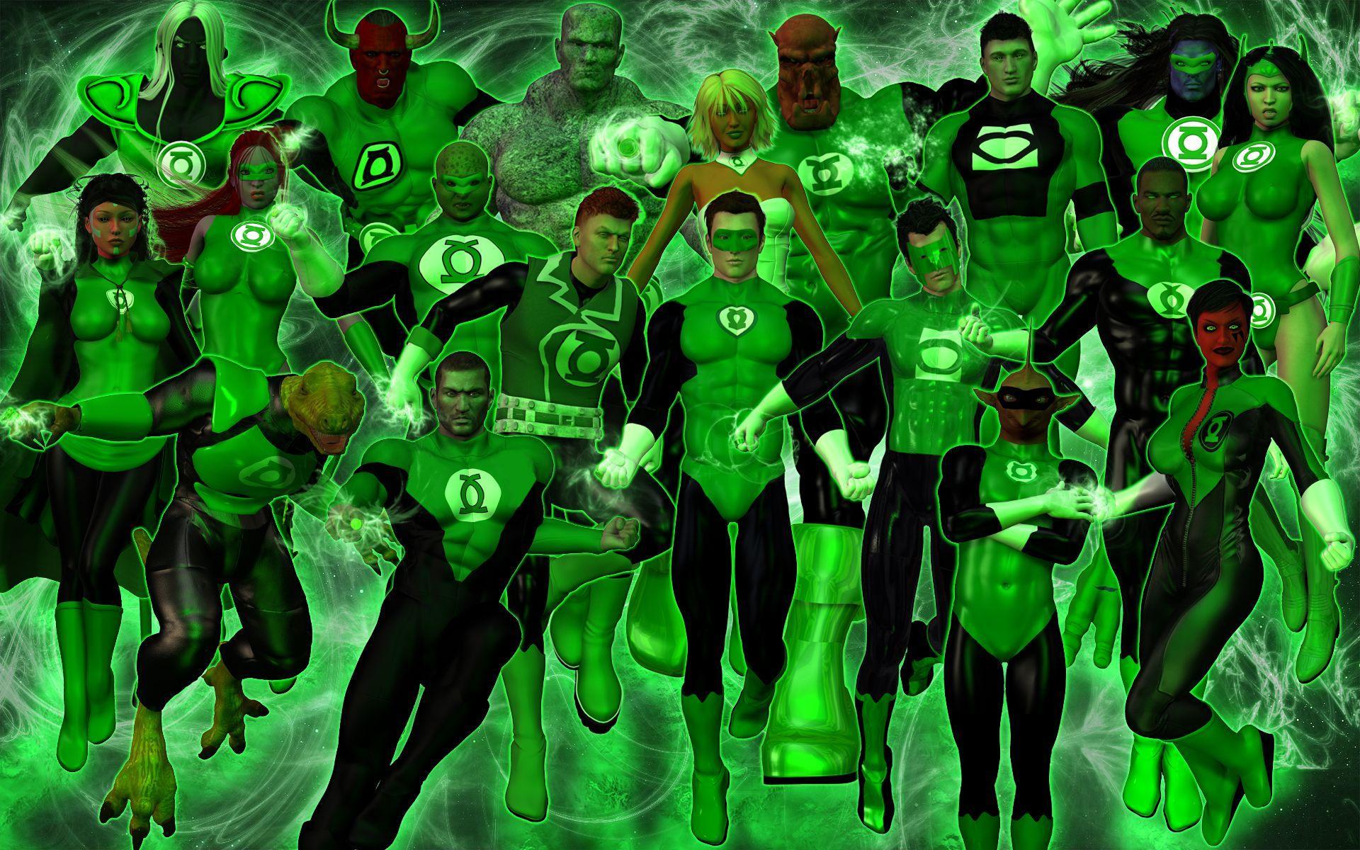 1440x900 Green Lantern Corps wallpapers ...