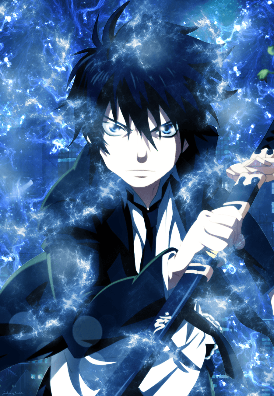 Blue Exorcist Iphone Wallpapers Top Free Blue Exorcist Iphone