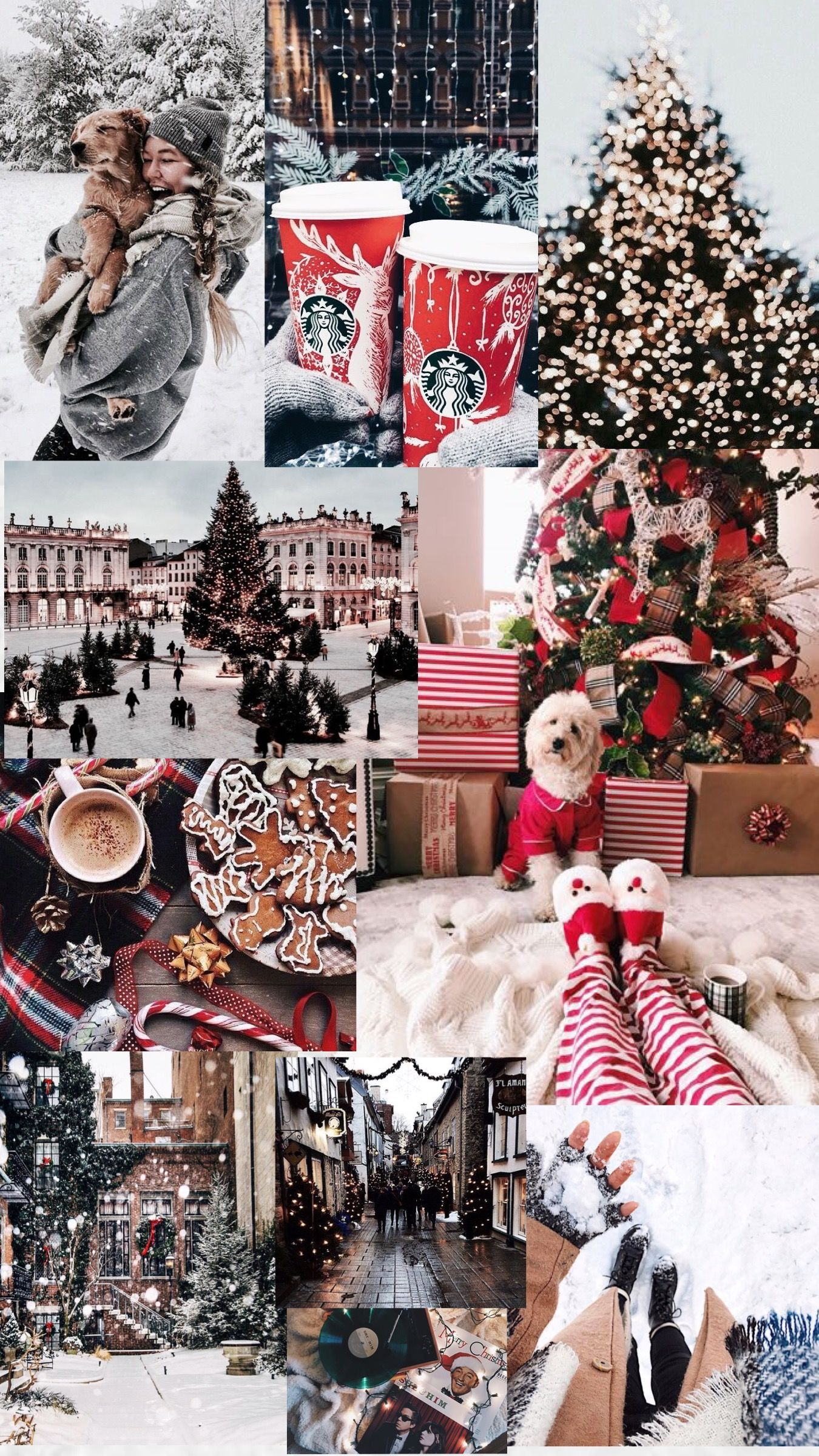 Winter Collage Wallpapers Top Free Winter Collage Backgrounds Wallpaperaccess