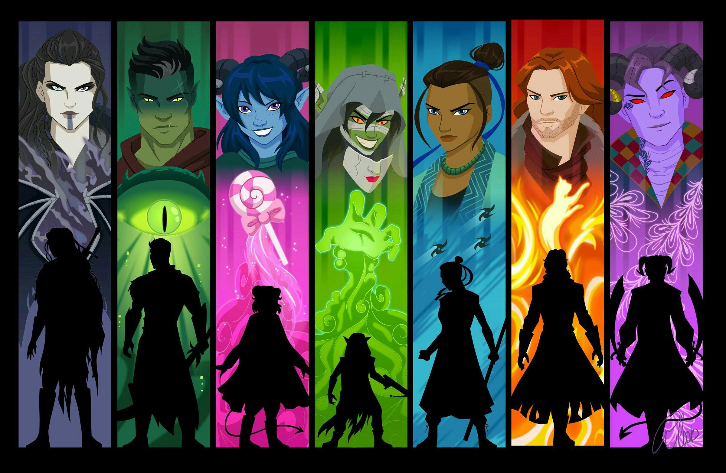 Critical Role Wallpapers Top Free Critical Role Backgrounds Wallpaperaccess