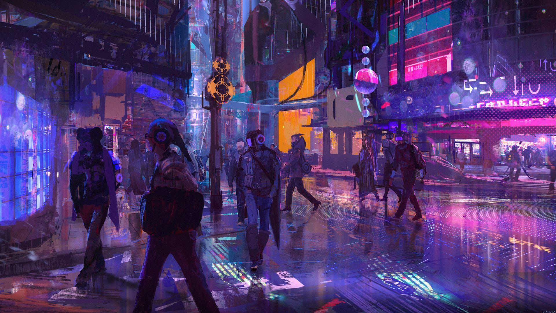 Cyberpunk Wallpapers Top Free Cyberpunk Backgrounds Wallpaperaccess