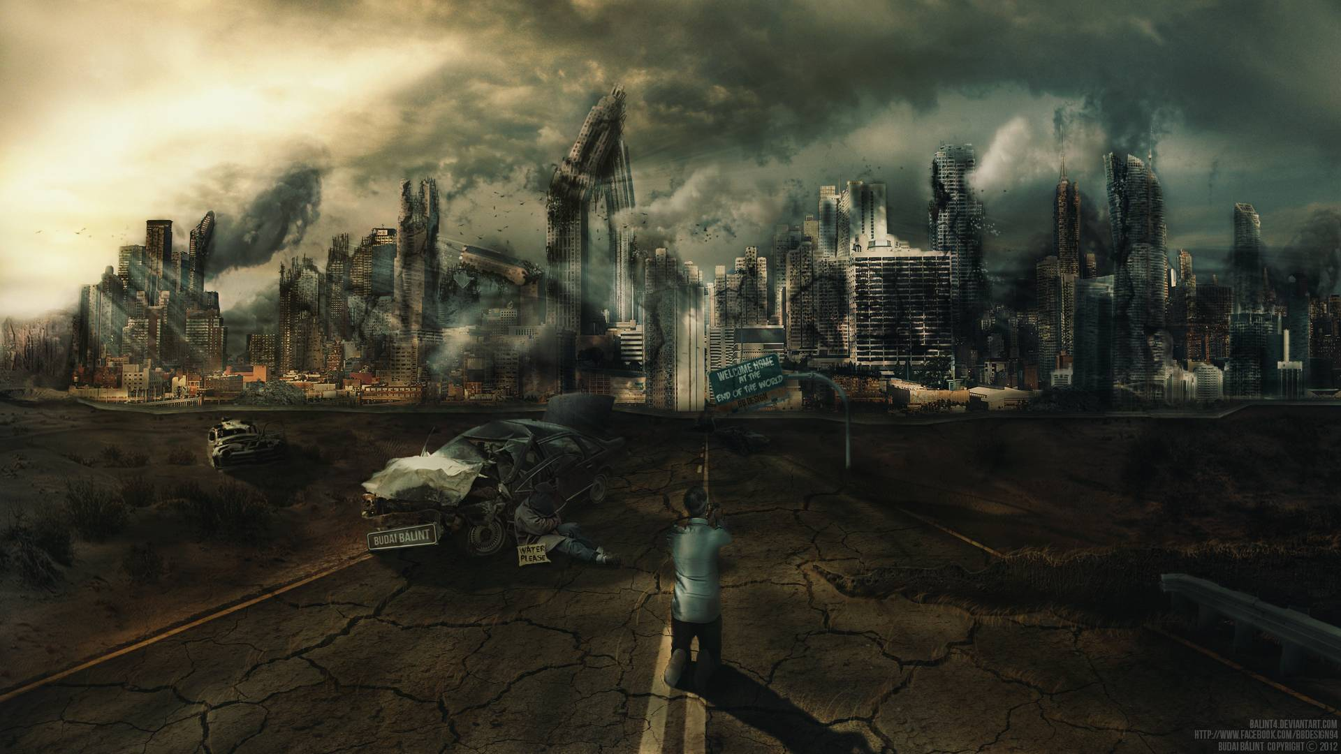 Apocalypse End Of The World Wallpaper Hd