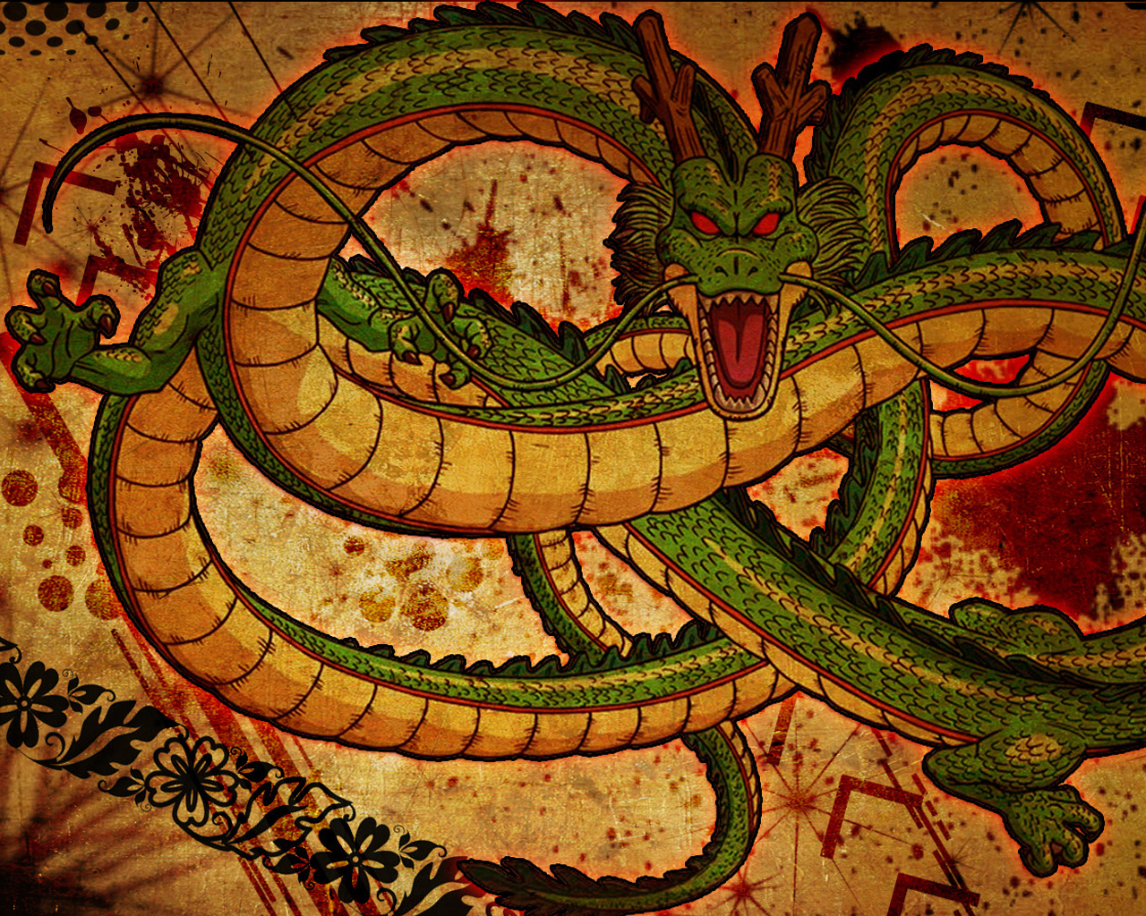 Dragon Ball Shenron Wallpapers Top Free Dragon Ball Shenron