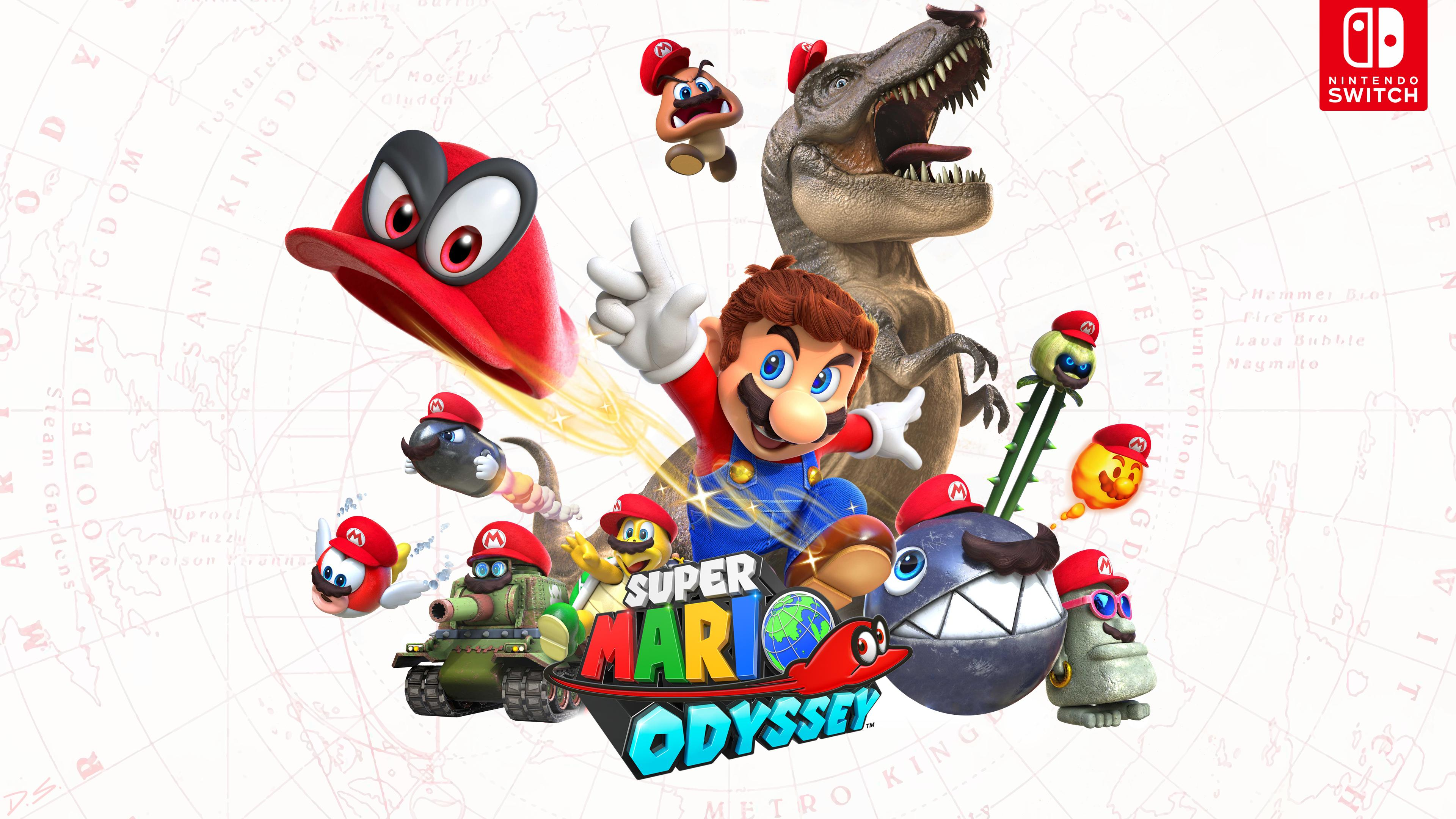 Mario Odyssey Wallpapers Top Free Mario Odyssey Backgrounds