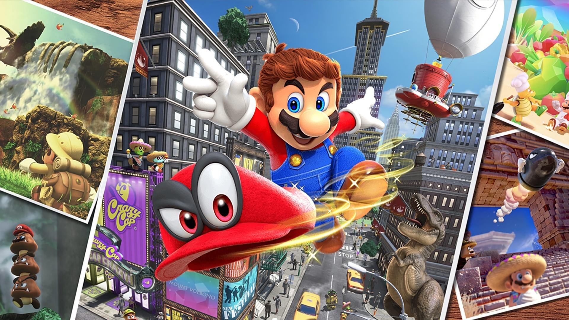 Mario Odyssey Wallpapers Top Free Mario Odyssey