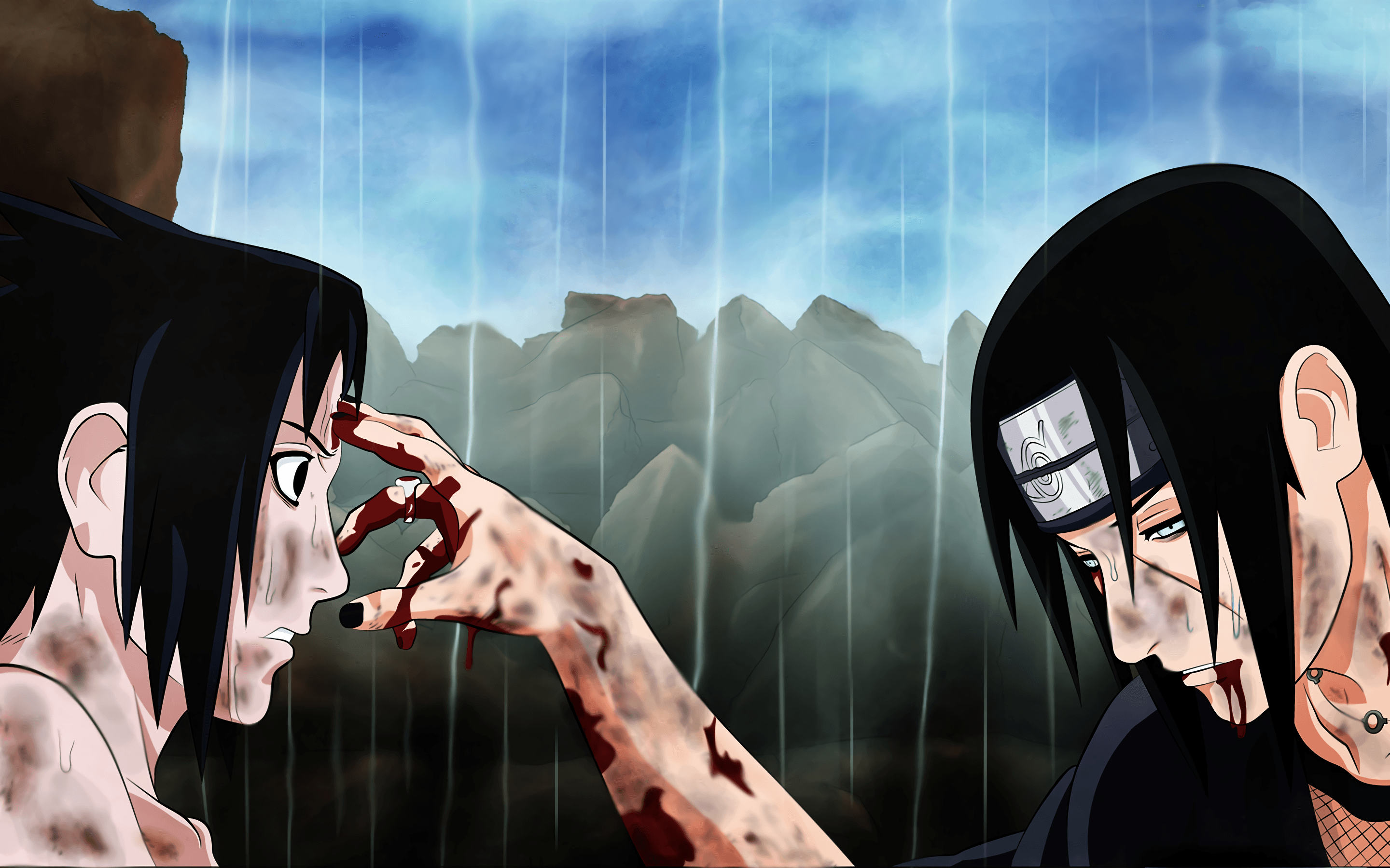 Sasuke And Itachi Uchiha Wallpapers Top Free Sasuke And
