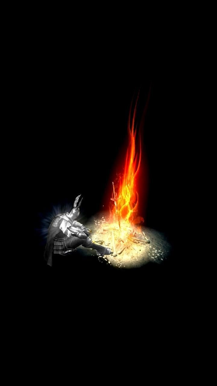 Dark Souls Bonfire Iphone Wallpapers Top Free Dark Souls Bonfire